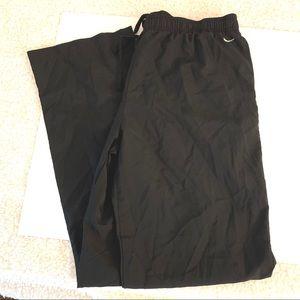 Nike Women's black track suit pants size XL
